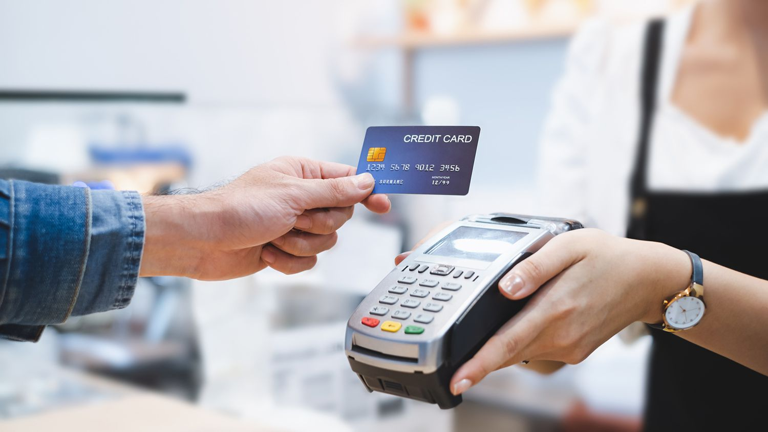 Credit Card and Debit Card Transaction